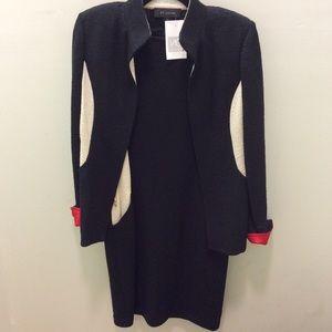 St. John dress and jacket suit